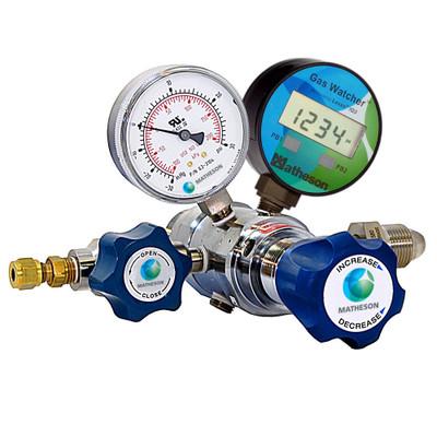 3120AW Series Gas Watcher Dual-Stage High-Purity Regulator - Brass