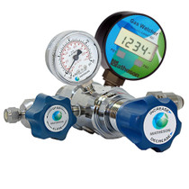 3810AW Series Gas Watcher Dual-Stage High-Purity Regulator - SS