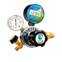 18W Series Gas Watcher Single-Stage General Purpose Regulator - Brass