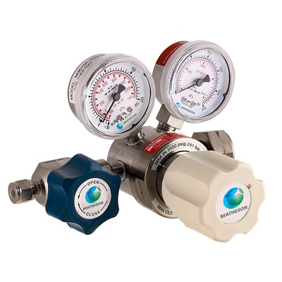 Model 3610A Series Single-Stage High-Purity Stainless Steel Regulator with Tied Diaphragm