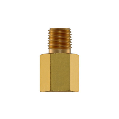 "Adapter, 1/4"" MNPT x 1/4"" FNPT, Brass"