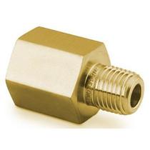 "Adapter, 1/8"" MNPT x 1/4"" FNPT, Brass"
