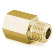 "Adapter, 1/2"" MNPT x 1/2"" FNPT, Brass"