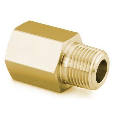 "Adapter, 1/2"" MNPT x 1/2"" FNPT, Brass"