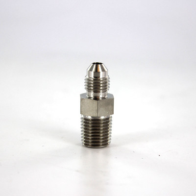 "Connector, 1/4"" 37° Flare by 1/4"" MNPT, SS"