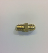 "Connector, 3/8"" 37° Flare by 1/4"" MNPT, Brass"