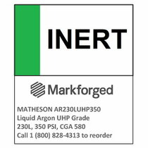 INERT- MATHESON Liquid Argon UHP Grade 230L, 350 PSI, CGA 580