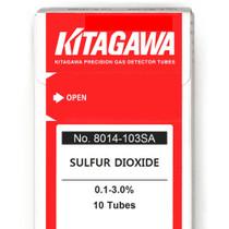 Gas Detector Tubes- Sulfur Dioxide, 8014-103SA