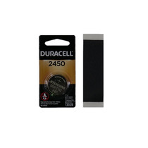 Battery, Size 2450, 3V , with Weatherproof Tape