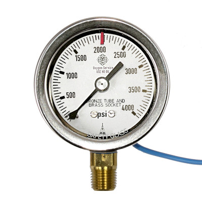 Indicating Pressure Switch, 4000 psi (Brass)