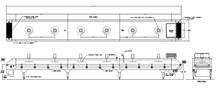 Martin/Baron (MBI) Single Pass Tunnel Freezer (refurbished)