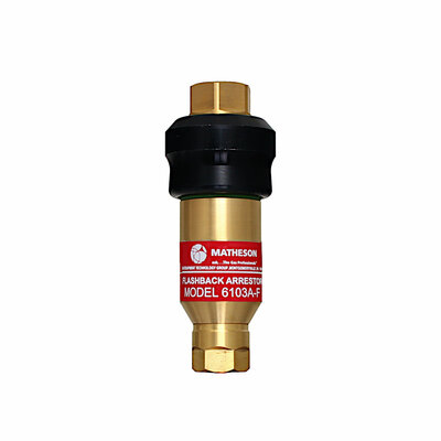 6103A-F Flash Arrestor - Brass