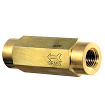 400V Check Valve - Brass