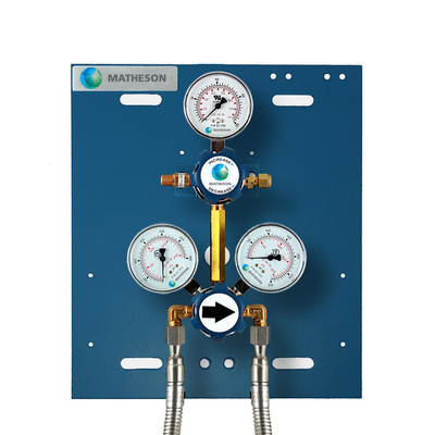 Switchover, 2 Cylinder (Brass)