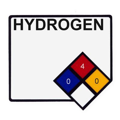 NFPA Label - Hydrogen