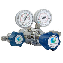 Model 3810A Series Dual-Stage High-Purity Stainless Steel Regulator