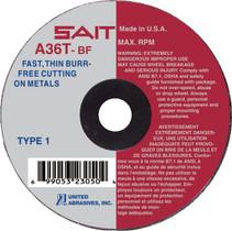 UAI Cutoff Wheel 4x1/16x3/8 TY1 Metal  - 23065