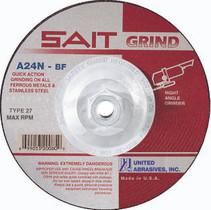 UAI Grinding Wheel 5x1/4x5/8-11 TY27 Metal  - 20170