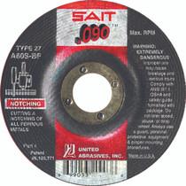 UAI Cutting Wheel 4-1/2x.090x7/8 TY27 Metal - 20903