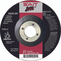 UAI Cutting Wheel 4x.045x5/8 TY27 Metal - 22011
