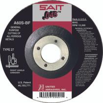 UAI Cutting Wheel 4-1/2x.045x7/8 TY27 Metal - 22021