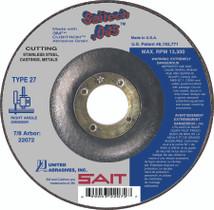 UAI Cutting Wheel 6x.045x7/8 TY27 Stainless Saitech - 22082