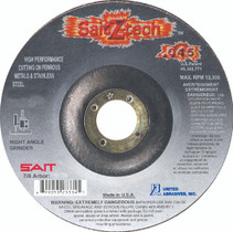UAI Cutting Wheel 4-1/2x.045x7/8 TY27  Z-Tech Metal  - 23334