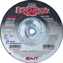 UAI Cutting Wheel 7x1/8x5/8-11 TY27 Z-Tech Metal - 22634