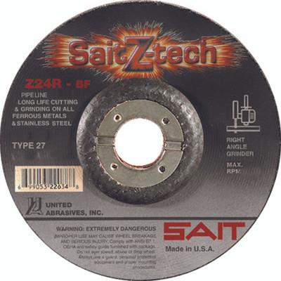 UAI Cutting Wheel 6x3/32x7/8 TY27 Z-Tech Metal - 22644