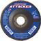 UAI Flap Disc 4-1/2x7/8 40GR TY27 High Density Ovation Attacker - 76206