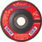 UAI Flap Disc 4-1/2x7/8 40GR TY27 High Density Ovation  - 78006