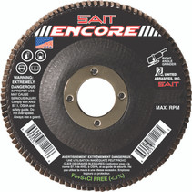 UAI Flap Disc 4-1/2x7/8 60G TY27 Encore - 71208