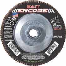 UAI Flap Disc 4-1/2x5/8-11 80G TY27 Encore - 71219