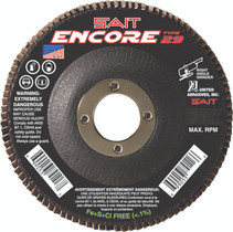 UAI Flap Disc 4-1/2x5/8-11 40G TY29 Encore - 79106