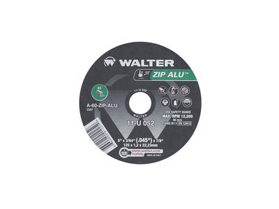 Walter Cutoff Wheel 5x3/64x7/8 TY 1 Aluminum Zip Alu™ - 11U052