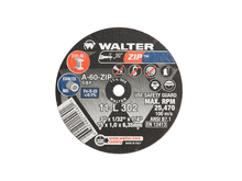 Walter Cutoff Wheel 3x1/32x1/4 TY 1 Zip™ -  11L302