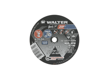 Walter Cutoff Wheel 4x1/16x3/8 TY 1 Zip™ -  11L413