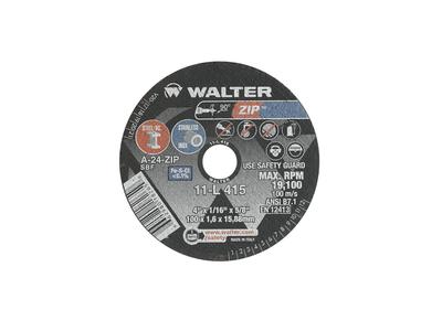 Walter Cutoff Wheel 4x1/16x5/8 TY 1 Zip™ -  11L415