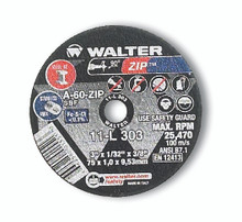 Walter Cutoff Wheel 3x1/32x3/8 TY 1 Zip™ -  11L303