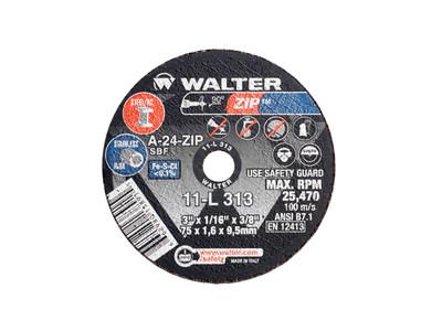 Walter Cutoff Wheel 3x1/16x3/8 TY 1 Zip™ -  11L313