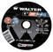 Walter Cutoff Wheel 6x3/64x7/8 TY 1 Zip™ Wheel -  11T062