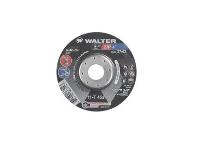 Walter Cutoff Wheel 4-1/2x1/16x7/8 TY 1 Zip+™ -  11T453