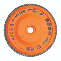 Walter Flap Disc 4-1/2x5/8-11 80 Grit Enduro-Flex Stainless™ -  06F458