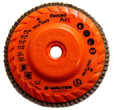 Walter Flap Disc 4-1/2x5/8-11 40 Grit  Enduro-Flex™ -  06B454