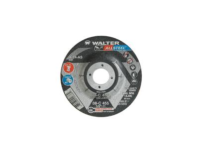 Walter Grinding Wheel 4-1/2x1/4x7/8 TY 27 Allsteel™ -  08C450