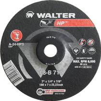 Walter Grinding Wheel 7x1/4x5/8-11 TY 27 HP™ -  08B715