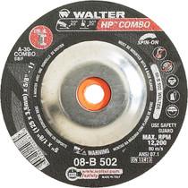 Walter Grinding Wheel 5x1/8x5/8-11 TY 27 HP Combo™ -  08B507