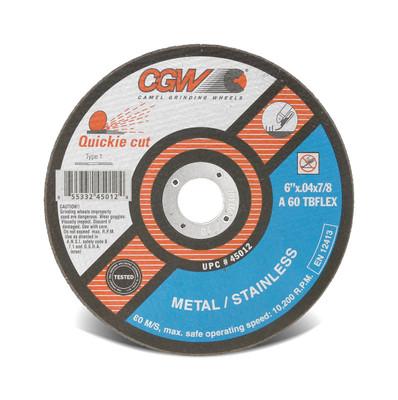 CGW Cutoff Wheel 6x.040x7/8 T1 ZA60-TB-Flex Quickie - 45012