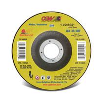CGW Cutoff Wheel 4-1/2x3/32x7/8 WA36-S-BF T27 (.094)  - 45020