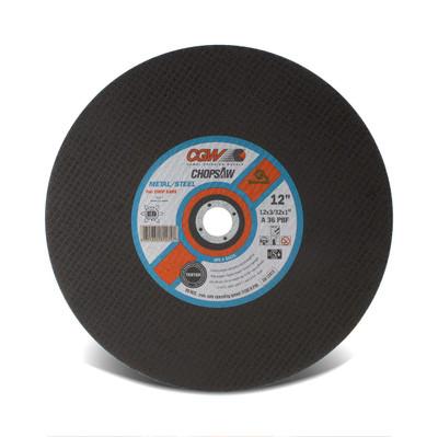CGW Chop Saw Wheel 14x3/32x1 A36-P-BF Double Reinforced - 35576